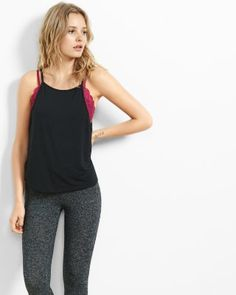 express one eleven scoop back cami from EXPRESS