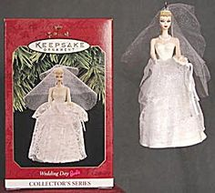 Barbie Hallmark ornaments | Wedding Day Barbie Hallmark Ornament (Famous People) at Silversnow ...