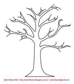 Ağaç yaprak ağaçlar yapraklar okulöncesi ilkokul kağıt yaprak ağaç çizimi kes yapıştır çocuklar için