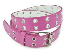 "Belle Donne - Women's Double Grommet Leather Belt -Pink/S(30""-32"") Belle Donne http://www.amazon.com/dp/B0158T9NDW/ref=cm_sw_r_pi_dp_D6i-vb17SJ43G"