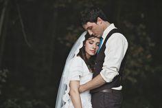 Wedding Blues : Monochrome Wedding Style