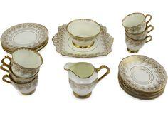 Tuscan China Tea Set, Service for 6