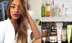 So that's the real secret to supermodel skin! Jourdan Dunn reveals the FOURTEEN beauty products - totaling more than $1,000 - she uses in just 24 hours to maintain her flawless complexion.