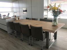 Rvs Onderstel Tafel : 22 best tafel rvs poten i zwaartafelen images diner table dining