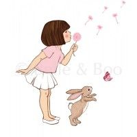 muursticker dandelion - belle en boo