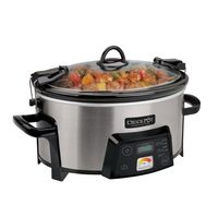 Shop a great selection of Cook & Carry Digital Slow Cooker Heat-Saver Stoneware, Contemporary Brushed Silver Exterior. Find new offer and Similar products for Cook & Carry Digital Slow Cooker Heat-Saver Stoneware, Contemporary Brushed Silver Exterior. Slow Cooker Chili, Crock Pot Slow Cooker, Crock Pot Cooking, Slow Cooker Recipes, Crockpot Ideas, Soup Recipes, Brushed Stainless Steel, Serving Dishes, Stoneware