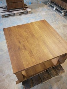 Solid Oak Furniture, Butcher Block Cutting Board, Dining Table, Kitchen, Home Decor, Cooking, Decoration Home, Room Decor, Dinner Table