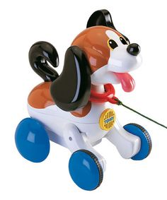 Pull Along Puppy   zulily