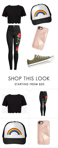 """""""Outfit #5"""" by sammiloves on Polyvore featuring Ted Baker, Rebecca Minkoff and Converse"""