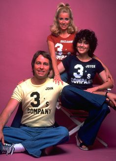 Three's Company a TV Land Classic Sitcom starring John Ritter, Suzanne Somers, and Joyce DeWitt