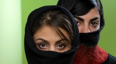 Many women wear the black chador in Iran, which leaves only the face and hands visible, but you could design a fashion ...