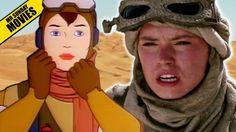 Rey's Weird Animated Origin [Star Wars - Caravan Of Garbage] #starwars #caravanofgarbage #film #movies #tvseries #animation #comics #geek