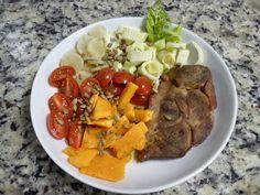 Jantar (detalhes no blog)  Eu que fiz! - http://euquefiz-sp.blogspot.com.br/ #paleo  #lowcarb  #comidasaudavel  #lchf