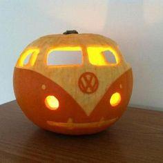 VW pumpkin! - awesome!