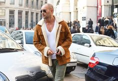 Milan Fashion Week Fall 2012- Men's Street Style