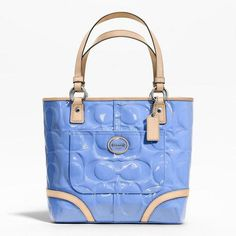 'NEW w/Tags $400 Leather Coach Peyton Large Tote' is going up for auction at  4pm Sun, Jul 7 with a starting bid of $1.