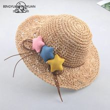 BING YUAN HAO XUAN Floppy sombreros de rafia para las mujeres verano  sombrero de paja playa 5158764ec8c
