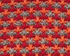 Wol & Co Tweed in ribbels Crochet Hooks, Crochet Baby, Knit Crochet, Crochet Afghans, Knitting Stiches, Knitting Patterns, Tweed, Linen Stitch, Crochet Patterns For Beginners