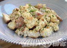 Salada de couve-flor assada e batata | O Mundo Culinario de Bia Flores