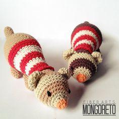Ferret amigurumi pattern by Mongoreto on Etsy