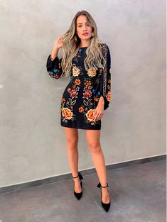 Pretty Outfits, Chic Outfits, Fashion Outfits, Sexy Dresses, Casual Dresses, Short Dresses, Boho Fashion, Girl Fashion, Fashion Design