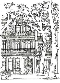 This gallery is certainly a little less natural than our Flowers and vegetation , Insects and Animals galleries ... But these coloring pages related to architecture will provide you a Zen and Relaxing moment. Ancient or modern, dreamed or futuristic, the architectures that we present have been selected for their richness in detail, their harmony, their connection with nature, but also for ... their complexity! For sure, it is a adult coloring website! Here is our selection of images to...
