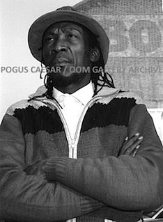 Alton Ellis: London UK. From the series 'Reggae Kinda Sweet.'    1987 Pogus Caesar/OOM Gallery Archive. All Rights Reserved