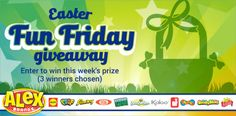 Alex Brand Toys Fun Friday Giveaway (4/9/17){U.S} via... sweepstakes IFTTT reddit giveaways freebies contests