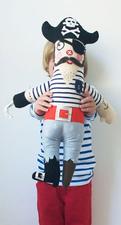 Free Pirate Doll Pattern