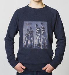 BOYS - EQIP Photo print sweater - marl blue. For boys who like to show their passion for the sport.