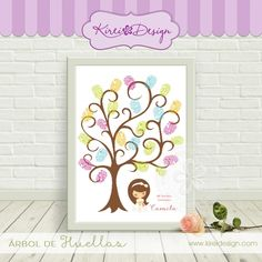 Arbol para huellas Comunion #imprimible #kireidesign First Communion Decorations, Ideas Para Fiestas, First Holy Communion, Special Day, Stencils, Diy And Crafts, Clip Art, Baby Shower, Scrapbook