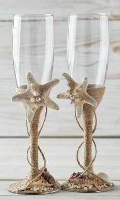 Lindo detalle con estrellas de mar