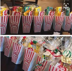 Christmas gifts candy Theatre to Go DIY Christmas Baskets for Teens Diy Christmas Baskets, Homemade Christmas Gifts, Homemade Gifts, Diy Gifts, Holiday Gifts, Christmas Diy, Coworker Christmas Gifts, Christmas Gift For Employees, Office Christmas Gifts