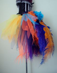 Burlesque Tutu Skirt Kevin from UP stunning by thetutustoreuk