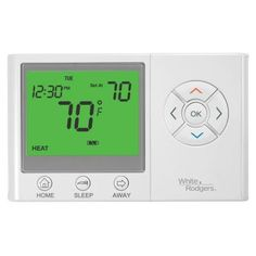 White Rodgers UP300 7-Day Universal Programmable Thermostat with Home/Sleep/Away Presets-UP300 - The Home Depot