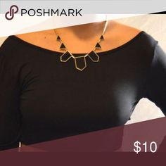 Geometric Necklace Cute statement necklace Melanin Monroe Boutique  Jewelry Necklaces