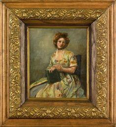Portrait of a woman by John French Sloan