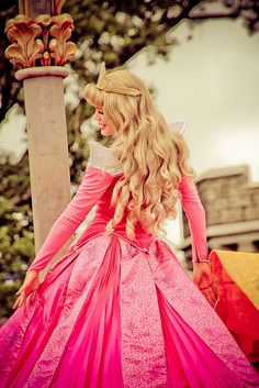 Princess Aurora at Disney World