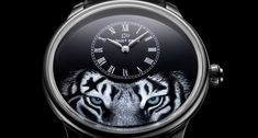Jaquet Droz Petit Heure Minute Tiger