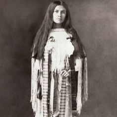 Quanah Parker's Daughter Wanada.  The story of her grandmother Cynthia Ann is truly heartbreaking.