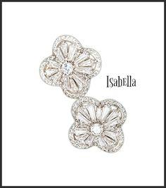 Isabella Earrings - Pearl + Creek Beautiful stud earrings for the biggest celebrations in life!    #earrings #studearrings #longearrings  #weddingearrings #motherofthebrideearrings #bridesmaidearrings #workwearinspo #workinspo