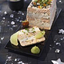 Ma recette du jour : Terrine de saumon sauce verte sur Recettes.net