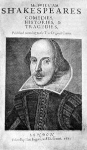 William Shakespeare is the most written-about author of history. The most striking feature of Shakespeare is his command of language. Shakespeare is credited with the introduction of nearly words into the language. His canon includes more than words William Shakespeare, Shakespeare Portrait, Shakespeare Words, Shakespeare Plays, Shakespeare Festival, First Folio, Othello, Playwright, Copics