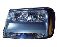 chevrolet trailblazer headlight action crash gm2502304r Brand:Action Crash Part Number: chetrailblazer/GM2502304R Category:Headlight Condition:New Price:222.10 Shipping:free(ground) Warranty:2years Description: HEAD LAMP ASSEMBLY, LH, FLUSH, LT MODEL, WO/GRILLE INDENTATION,, HLAMP LH;ROE;06-09 TRAILBLAZER, REMANUFACTURED OE, LT;FLUSH;WO/GRL INSET