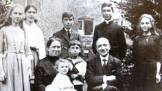 Joseph was the 6th child of the Lefebvre family, five of whom were religious: René, the eldest (Holy Ghost Father); Jeanne (Sister of Mary Reparatrix); Marcel (Archbishop Lefebvre); Bernadette (Holy Ghost Sister and co-founder of the Sisters of Saint Pius X); Christiane (Carmelite); Joseph, Michel, and Marie-Thérèse. (R.I.P. Joseph Lefebvre! - District of the USA)
