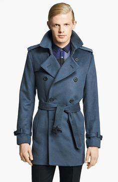 Gift Style: Burberry 'Britton' Wool & Cashmere Double Breasted Trench Coat