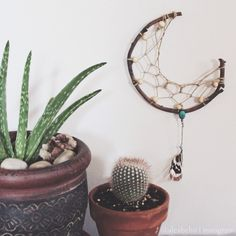 diy crescent moon dreamcatcher - Google-Suche
