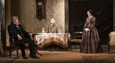 Denis Conway and Karen McCartney in The Heiress by Ruth and Augustus Goetz, based on the novel Washington Square by Henry James. Picture by Pat Redmond Washington Square, Dublin City, Online Tickets, Lace Skirt, Theatre, Novels, Pictures, Fashion, Moda