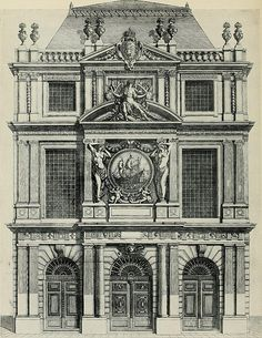 """awesome Image from page 230 of """"A history of French architecture from the death of Mazarin till the death of Louis XV, 1661-1774"""" (1921)"""