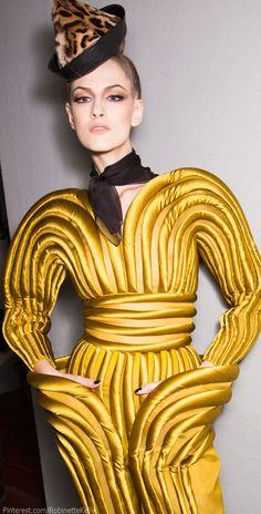 Jean Paul Gaultier Haute Couture | F/W 2014. More inspiration at http://www.valenciamindfulnessretreat.org .